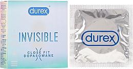Perfumería y cosmética Preservativos extra finos, 3 uds. - Durex Invisible Close Fit
