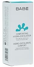 Perfumería y cosmética Exfoliante facial hidratante con ácido salicílico y aceite de jojoba - Babe Laboratorios Comforting Hydra-Exfoliator