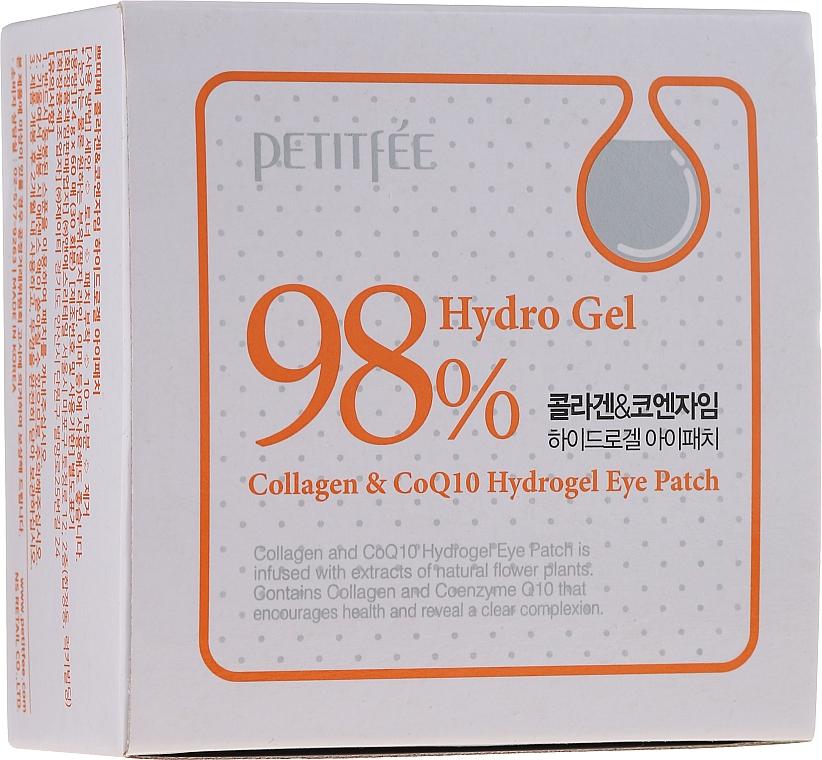 Parches de hidrogel para contorno de ojos con colágeno y coenzima Q10 - Petitfee & Koelf Collagen & Co Q10 Hydrogel Eye Patch