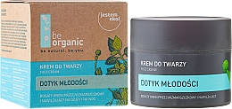 Perfumería y cosmética Crema facial con extracto de rosa negra y aceite de inca-inchi - Be Organic Face Cream