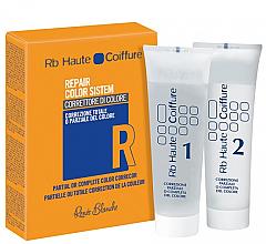 Tratamiento corrector total o parcial del color del cabello - H.Zone Rapair Color System — imagen N1