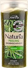 Perfumería y cosmética Gel de ducha exfoliante natural con extracto de semilla de cáñamo - Joanna Naturia Peeling