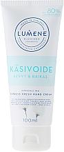Perfumería y cosmética Crema de manos con extracto de algodón nórdico - Lumene Klassiko Express Fresh Hand Cream