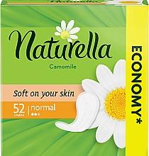 Perfumería y cosmética Compresas sin alas con extracto de camomila, 52 uds. - Naturella Camomile Normal