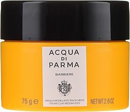 Perfumería y cosmética Arcilla moldeadora para cabello, fijación media - Acqua Di Parma Barbiere The Styling Clay Medium Hold