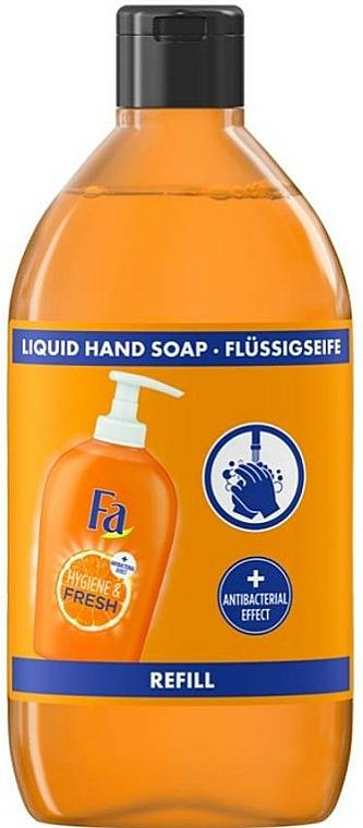 Recarga jabón de manos líquido antibacteriano con aroma a naranja - Fa Hygiene & Fresh Orange Scent Liquid Soap