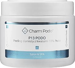 Perfumería y cosmética Peeling de pies granulado con 18% de ácidos - Charmine Rose Charm Podo P13