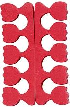 Perfumería y cosmética Separadores para pedicura, tulipán, rojo - Peggy Sage