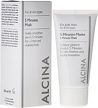 Perfumería y cosmética Mascarilla facial 5 minutos - Alcina B 5 Minute Mask