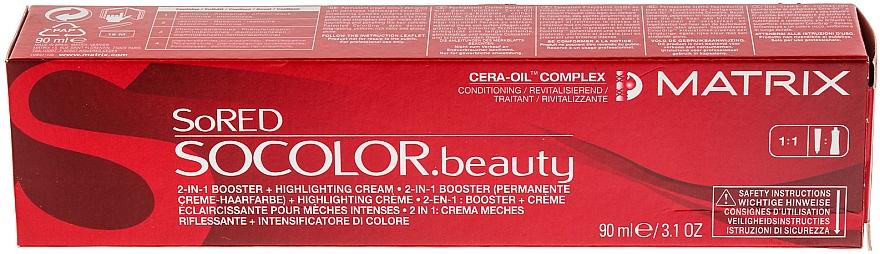 Tinte permanente para cabello - Matrix SoRED  — imagen N1
