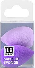 Perfumería y cosmética Esponja de maquillaje - Tools For Beauty Mini Concealer Makeup Sponge Purple