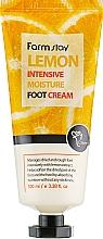 Perfumería y cosmética Crema intensiva para pies con extracto de limón - FarmStay Lemon Intensive Moisture Foot Cream