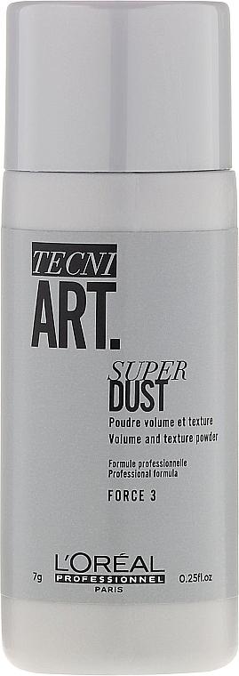 Polvo para volumen y fijación duradera - L'Oreal Professionnel Tecni.Art Super Dust Force 3
