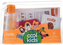 Perfumería y cosmética Set (champú-gel/3g + masarilla + higienizante de manos/100ml) - Roofa Cool Kids