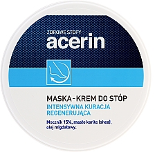 Perfumería y cosmética Mascarilla en crema para pies con manteca de karité - Acerin Mask
