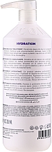 Mascarilla restauradora de cabello con proteínas de seda, de trigo, amioácidos y aceite de babasú - I.C.O.N Inner Home Moisturizing Treatment — imagen N2
