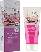 Perfumería y cosmética Espuma facial limpiadora con ácido hialurónico - Ekel Hyaluronic Acid Foam Cleanser