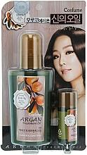 Perfumería y cosmética Set tratamiento para cabello con aceite de argán - Welcos Confume Argan Treatment Oil (aceite/120ml + aceite/25ml)
