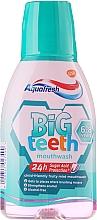 Perfumería y cosmética Enjuague bucal con sabor afrutado - Aquafresh Big Teeth Mouthwash