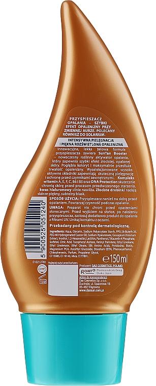 Acelerador de bronceado vegetal con ácido hialurónico - Dax Sun Ultra Bronze — imagen N4
