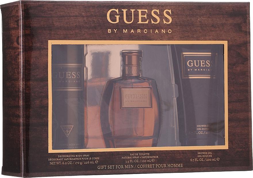 Guess by Marciano - Set (eau de toilette/100ml + gel de ducha/200ml + desodorante/226ml)