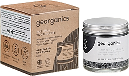 Perfumería y cosmética Pasta dental natural con carbón activado - Georganics Activated Charcoal Natural Toothpaste