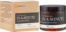 Perfumería y cosmética Exfoliante de manos con azúcar, aceite de coco y jojoba - Phenome Pure Sugarcane In-A-Minute Manicure Scrub