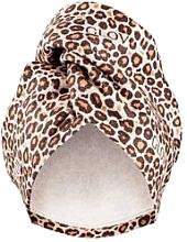 Perfumería y cosmética Toalla turbante, color leopardo - Glov Hair Wrap
