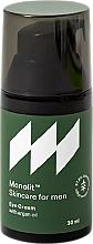 Perfumería y cosmética Crema contorno de ojos con aceite de argán - Monolit Skincare For Men Eye Cream With Argan Oil