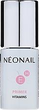 Perfumería y cosmética Prebase de uñas con vitaminas, sin ácidos - NeoNail Professional Primer Vitamins