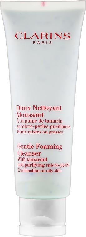 Espuma limpiadora facial con tamarindo - Clarins Gentle Foaming Cleanser with Tamarind — imagen N2