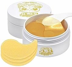 Perfumería y cosmética Parches para contorno de ojos con ácido hialurónico - Elizavecca Gold Hyaluronic Acid Eye Patch