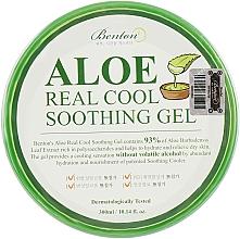 Perfumería y cosmética Gel facial calmante con 93% extracto de aloe vera - Benton Aloe Real Cool Soothing Gel