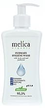 Perfumería y cosmética Gel de higiene íntima con ácido láctico y pantenol - Melica Organic Intimate Hygiene Wash