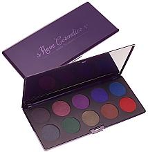 Perfumería y cosmética Paleta de sombras de ojos, 10 colores - Neve Cosmetics Scurissimi Eyeshadow Palette