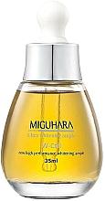 Perfumería y cosmética Sérum facial aclarante con extractos de lirio blanco, camomila, orquídea y niacinamida - Miguhara Ultra Whitening Ampoule