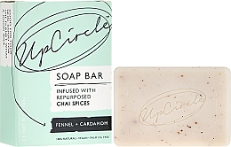 Perfumería y cosmética Jabón natural con hinojo y cardamomo - UpCircle Fennel + Cardamom Chai Soap Bar