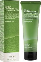 Perfumería y cosmética Espuma facial limpiadora con té verde - Benton Deep Green Tea Cleansing Foam