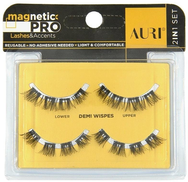 Pestañas postizas magnéticas - Auri Magnetic Pro Demi Wispies