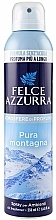 Perfumería y cosmética Ambientador en spray con aroma cítrico - Felce Azzurra Pura Montagna Spray