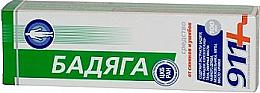 Perfumería y cosmética Gel para contusiones con extracto de badyaga y aceite esencial de menta - 911
