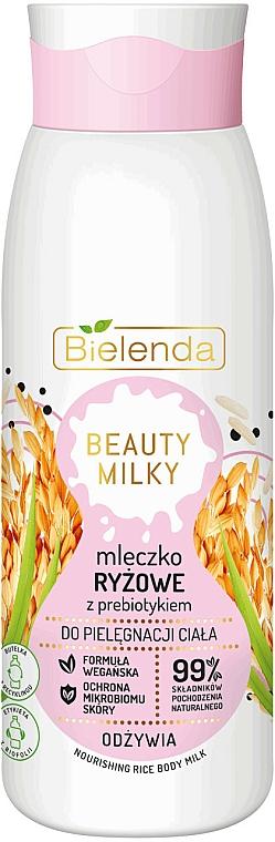 Leche corporal nutritiva con arroz - Bielenda Beauty Milky Nourishing Rice Body Milk