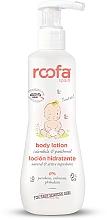 Perfumería y cosmética Loción corporal para bebés con caléndula & pantenol para piel sensible - Roofa Calendula & Panthenol Body Lotion
