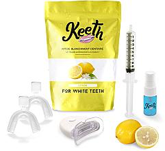 Perfumería y cosmética Kit de blanqueamiento dental con sabor a limón - Keeth Lemon Teeth Whitening Kit