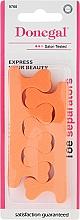 Perfumería y cosmética Separadores para pedicura, 9766, naranja - Donegal