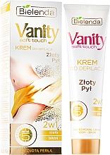 Perfumería y cosmética Crema depilatoria para cuerpo y bikini - Bielenda Vanity Soft Touch Depilatory Cream