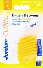 Perfumería y cosmética Cepillos interdentales L 0.7 mm, 10 uds. amarillo - Jordan Brush Between
