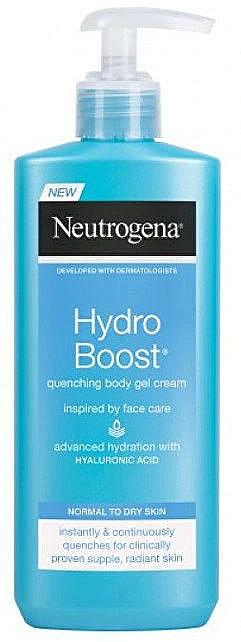 Gel-crema corporal con ácido hialurónico - Neutrogena Hydro Boost Body Gel Cream