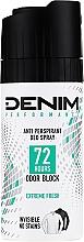 Perfumería y cosmética Desodorante spray antitranspirante y antimanchas - Denim Deo Extreme Fresh