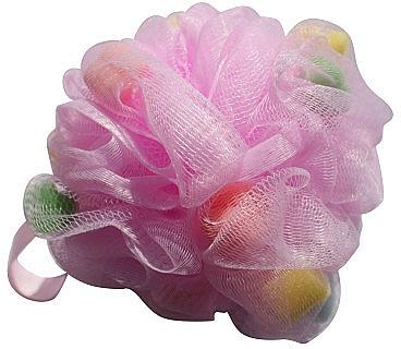 Esponja de malla, multicolor - Gabriella Salvete Body Care Mesh Massage Bath Sponge